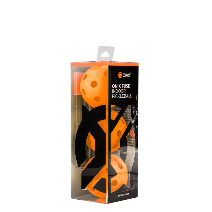 Onix FUSE indoor pickleballs (3balles)