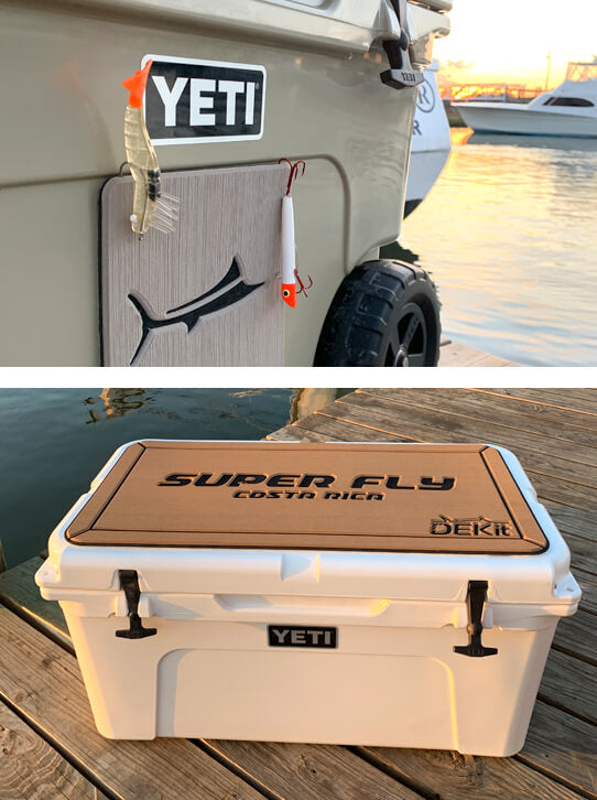 Customized Cooler Tops