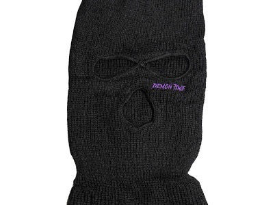 Embroidered Ski Mask Top Eye