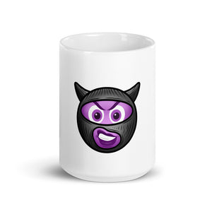 Demon Time Emoji Mug
