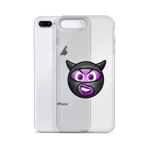Demon Time Emoji iPhone Case