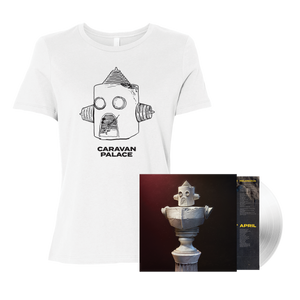 Drawbot T-Shirt + Deluxe LP Bundle