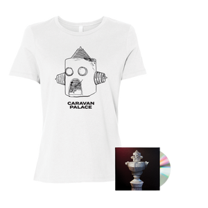 Drawbot T-Shirt + CD Bundle