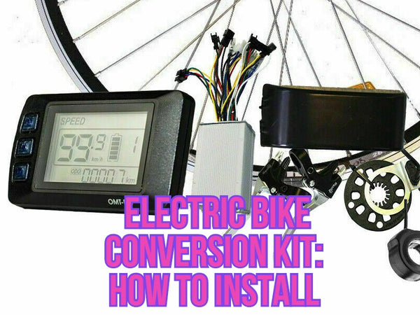 Electric Bike Conversion Kit: How to Install?