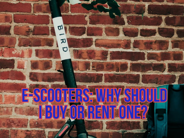 E-scooters: Why should I buy one?