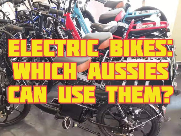 Electric bikes: Which Aussies can use them?