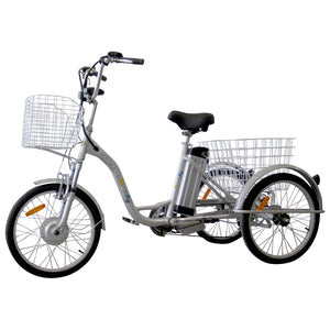 "26"" Adult Electric Tricycle TB (Silver)"