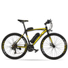Affordable 700c Shimano 21 Speed Commuter Electric Bike RS600 OS (Grey/Yellow/Blue/Red) Yellow Black eBikesPro Australia