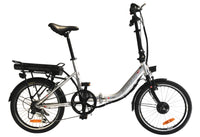 Easy Ride 20 Inch Step Through Folding Commuter Electric Bike BEAUT CV (Silver Black) Silver / 20 inch eBikesPro Australia