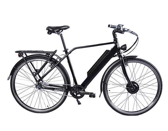 Daily Commute Mens Standard Electric Bike CMS1 CY (Pitch Black)