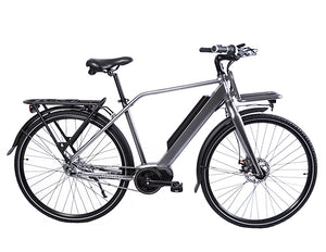 Men's Premium Mid Drive Electric Bike CMP1 CY (Electric Grey)