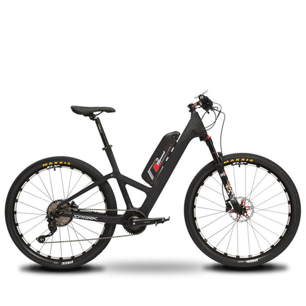 Front Fork Suspension 27.5 Inch Mountain Electric Bike TCC OS (Black)