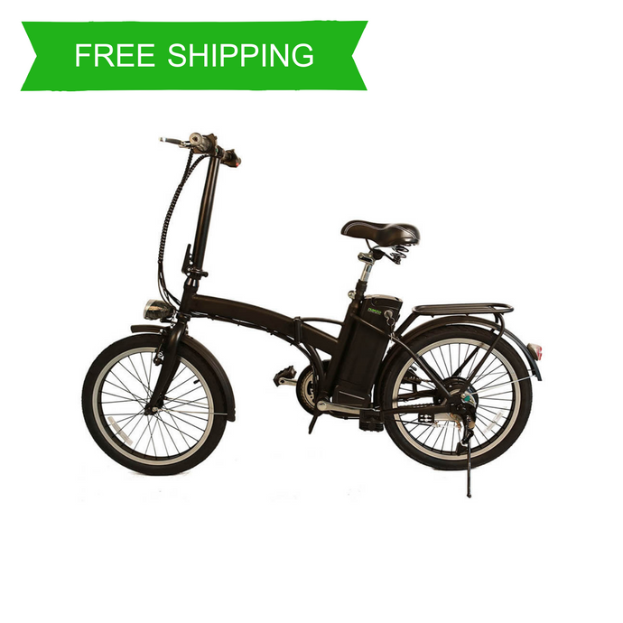 Fashionable 20 Inch Folding Urban Electric Bike MA (Black)