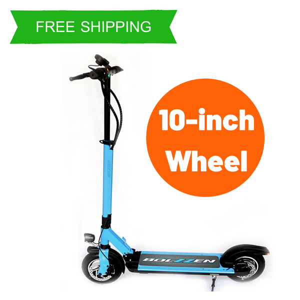 BOLZZEN Fuze Pro Premium Electric Scooter 500W with 10-Inch Wheel MA
