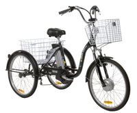 "24"" Adult Electric Tricycle TB (Satin Black)"