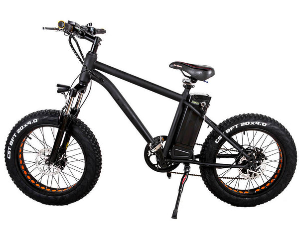 Mini Cruiser 20 Inch Fat Tyre electric Bike MA (Black)