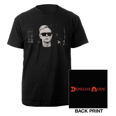 Fletch Photo Black T-shirt-Depeche Mode