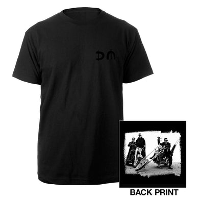 DM/Bike Photo Black T-shirt-Depeche Mode