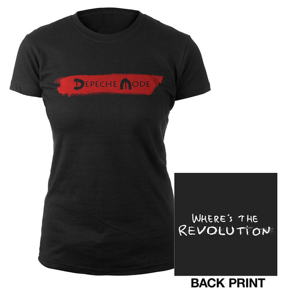 Logo/Where's The Revolution Babydoll-Depeche Mode