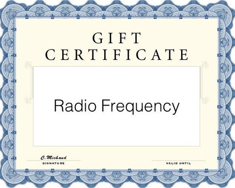 RF (Radio Frequency)
