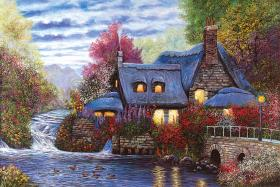 Sunset Cottage- 1000 PC