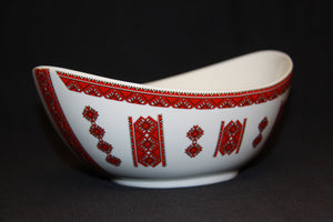 Medium Oval Bowl 8""