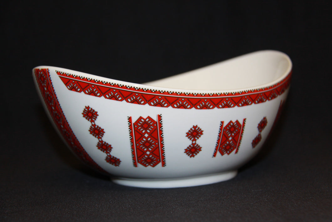 Medium Oval Bowl 8