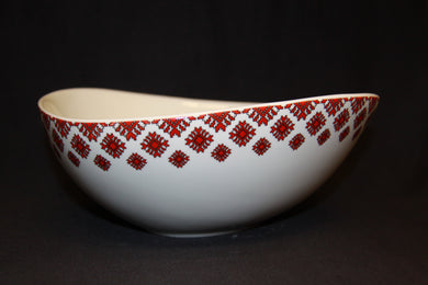 Large Wave Bowl 10.25