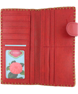 Polska Flower Slim Wallet