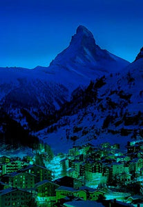Night in Zermatt- 300 pc