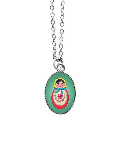 Matryoshka Doll Necklace
