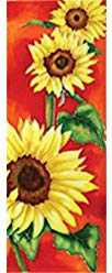 Sunflowers in the Sun Ceramic Art
