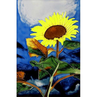 Sunflower Ceramic Art