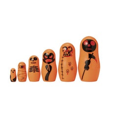 Matryoshka Madness Orange Monster