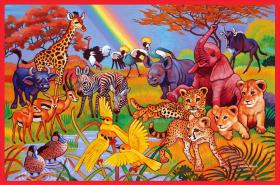 African Paradise- 60 pc