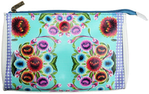 Flora Pattern Makeup Bag