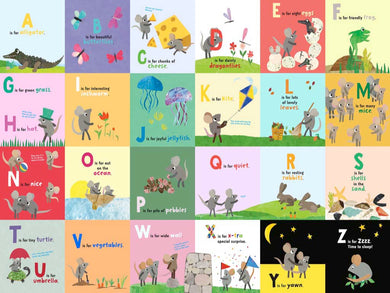 Animal Alphabet- 24 pc