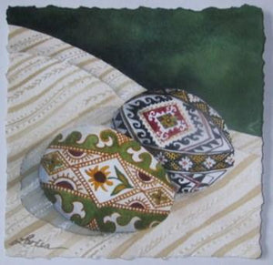 Two New Pysanky