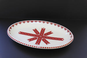 medium oval serving platter