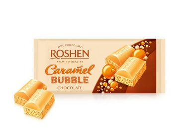 ROSHEN Caramel Bubble Chocolate Bar