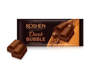 ROSHEN Dark Bubble Chocolate Bar