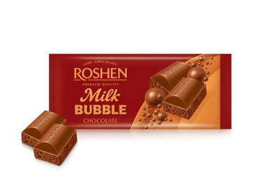 ROSHEN Milk Bubble Chocolate Bar