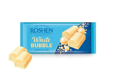 ROSHEN White Bubble Chocolate Bar