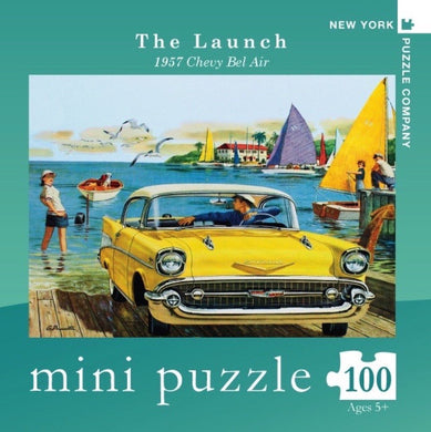 The Launch- 100 pc mini puzzle