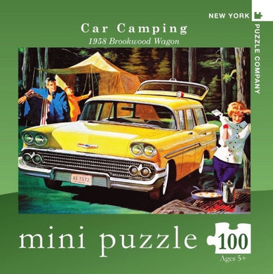 Car Camping- 100 pc mini puzzle