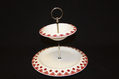 2 Tiered Serving Dish (Tray)