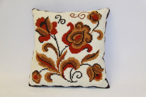 Traditional Ukrainian Decorative Pillow