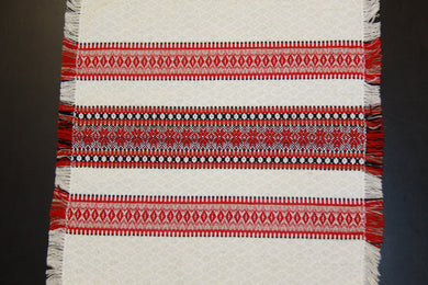 Red Natural Woven Napkin 14