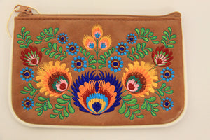 Polska Flower Coin Purse