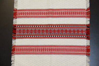 Red Natural Woven Napkin 13